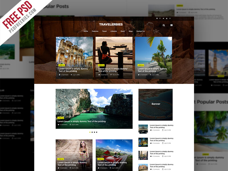 Travel Blog Or Magazine