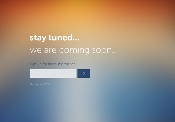 Stay Tuned – Website Coming Soon