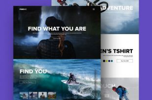 Free Sports PSD Website Templates