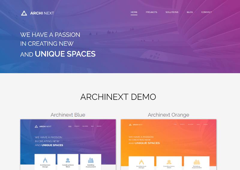 Archi Next website