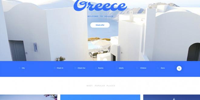 Free Blog PSD Website Templates