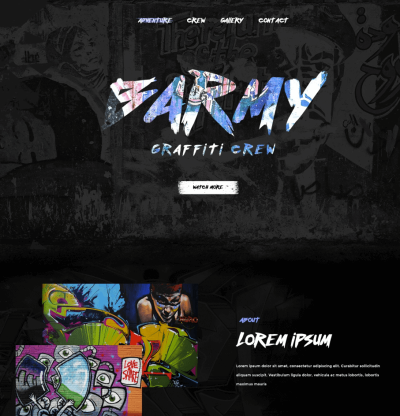 Barmy PSD Template