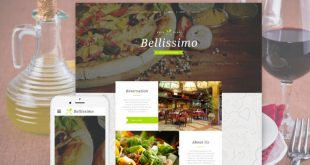 Food Restaurant HTML Website Templates