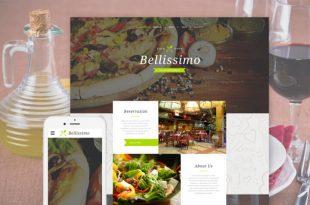 Food Restaurant HTML Website Templates