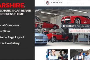 Automobiles WordPress Themes