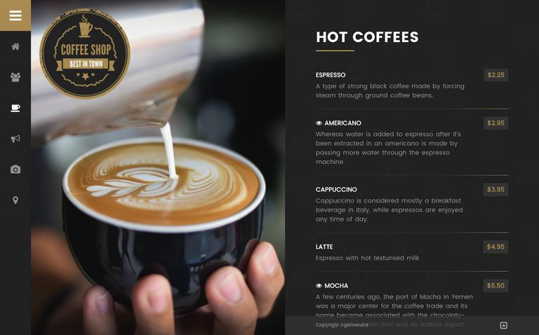 Coffee Shop - Cafe Bar Pub Restaurant WordPress Theme