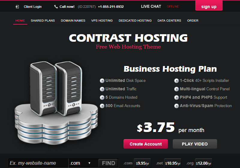 Contrast Hosting