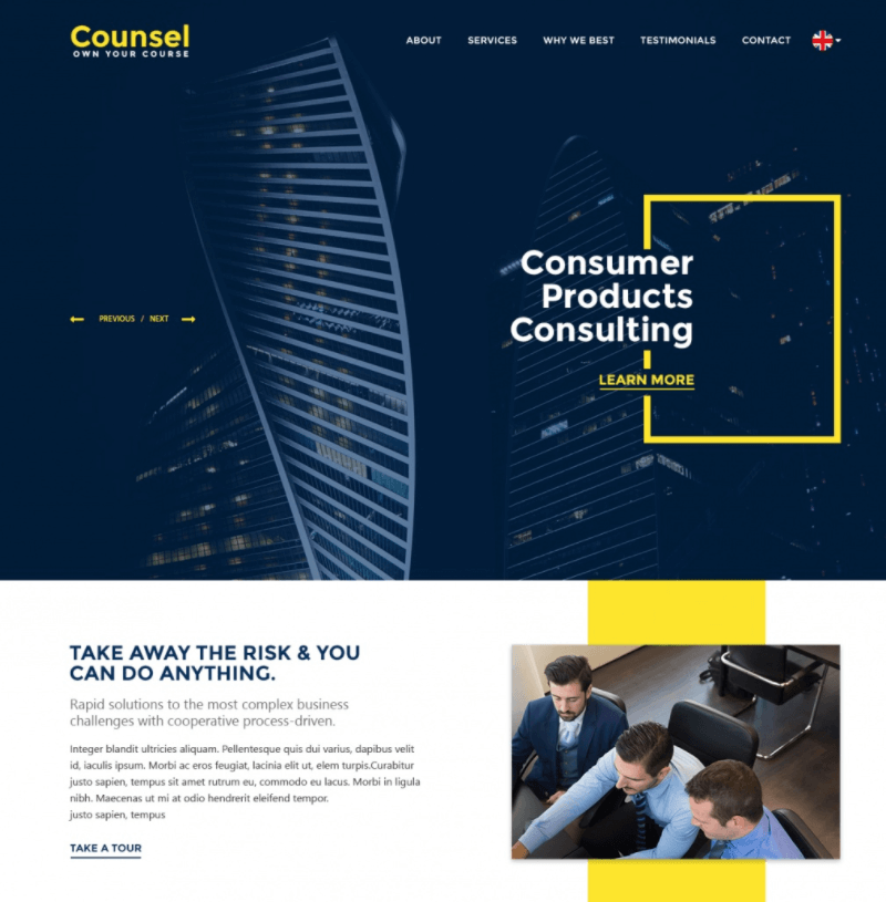 Counsel PSD Template