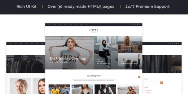 Top Rated HTML Website Templates
