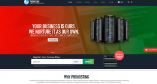 Free Hosting PSD Website Templates