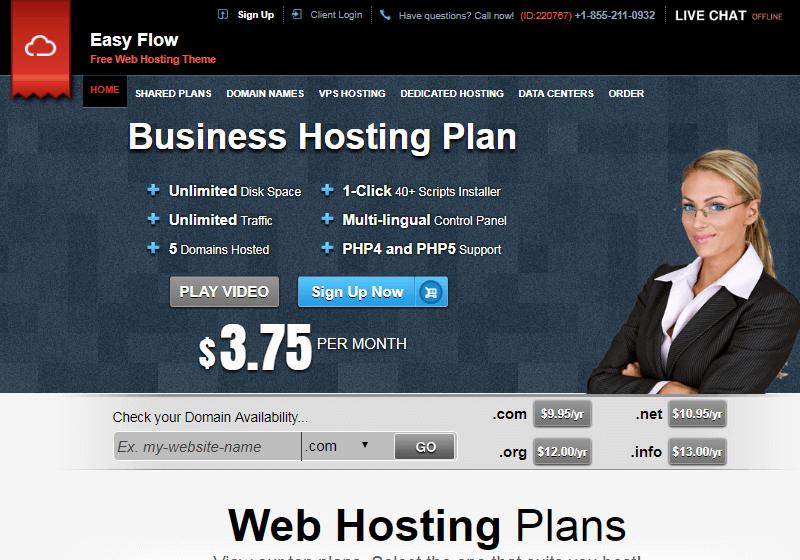 Easy Flow Hosting