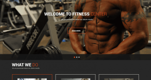 Free Fitness Gym WordPress Themes