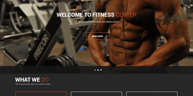 Free Fitness Gym WordPress Themes