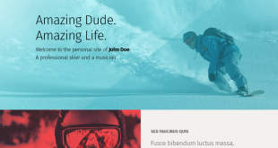 Free One Page PSD Website Templates