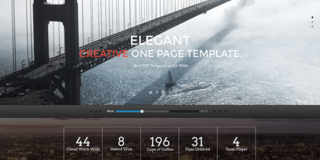 Free Architect PSD Website Templates