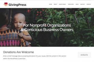 Free Non Profit WordPress Themes