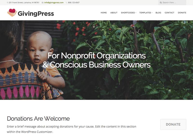 GivingPress Lite