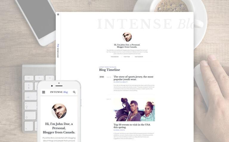 INTENSE Blog