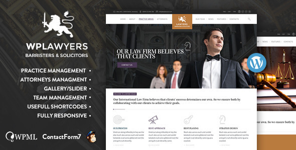 Best Lawyer Wordpress themes