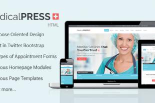 Medical HTML Website Templates