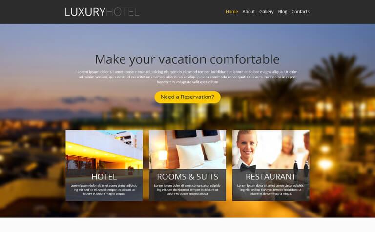 Modern Hotel Business