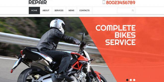 Vehicle HTML Website Templates