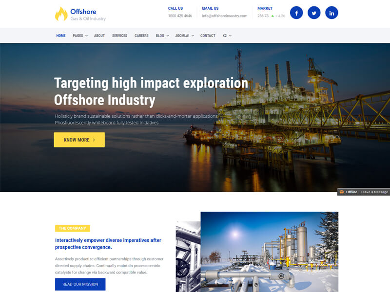 Offshore - Industrial Business