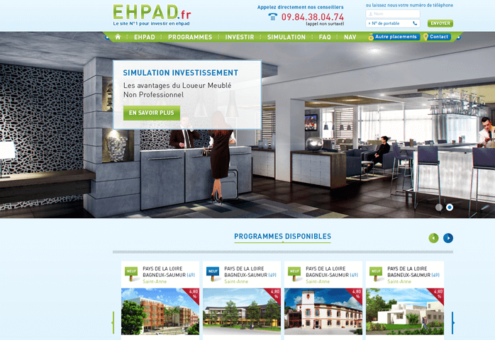 PSD Website Template Real Estate HomePage (1)