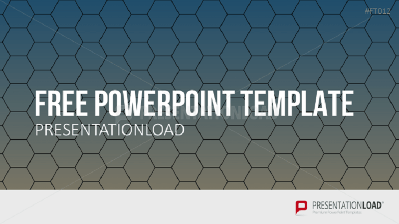 PowerPoint Template Honeycombs