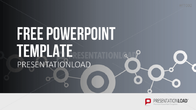 PowerPoint Template Network Concept