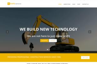 Free Construction Company WordPress Themes