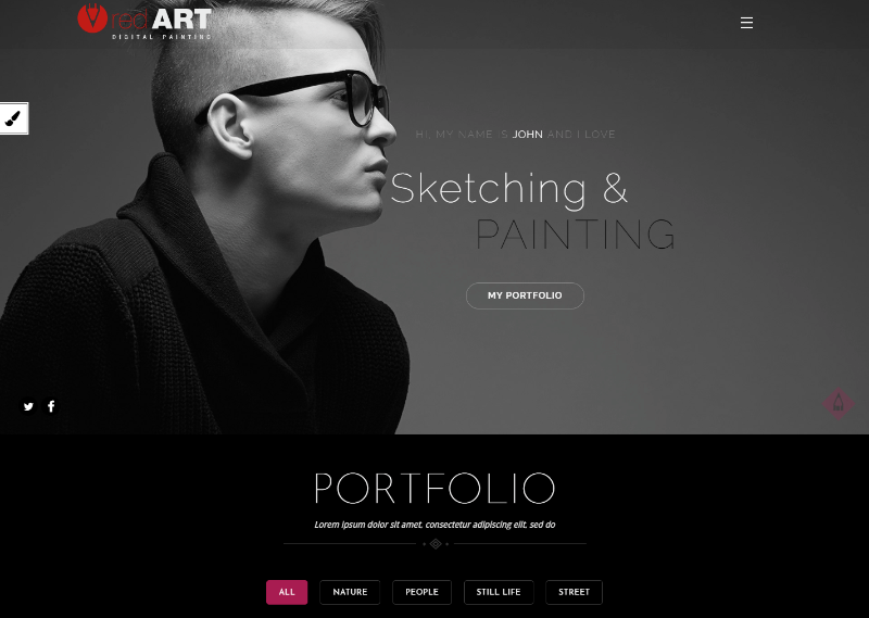 Red Art Photography | Art, Photography Theme