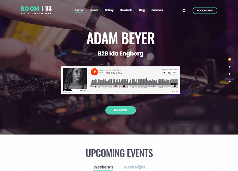 Room 33 - Podcast & Audio Responsive WordPress Theme
