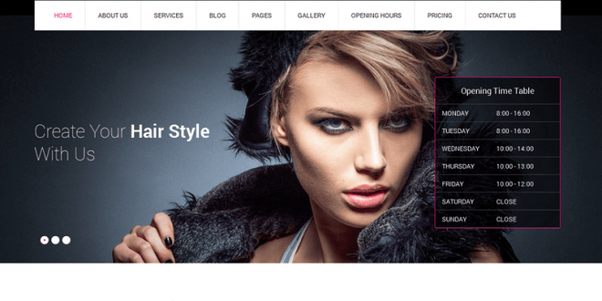 17 Best Free Spa Salon WordPress Themes