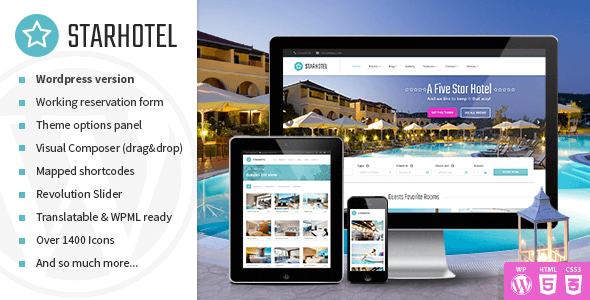Best Hotel Booking Wordpress Themes