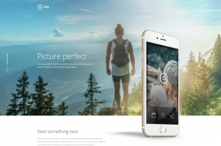 Free Landing page PSD Website Templates