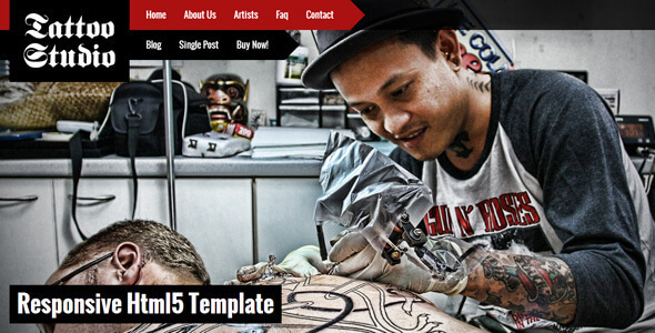 Art HTML Website Templates