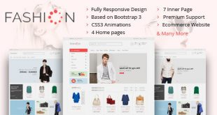 Fashion HTML Website Templates