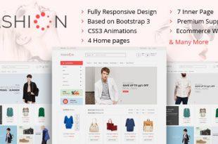 Fashion HTML Website Templates