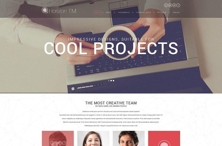 Web Design CV