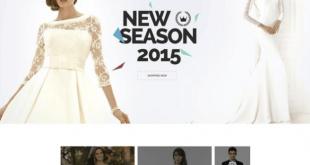 Free Wedding PSD Website Templates