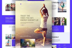 Free Society PSD Website Templates