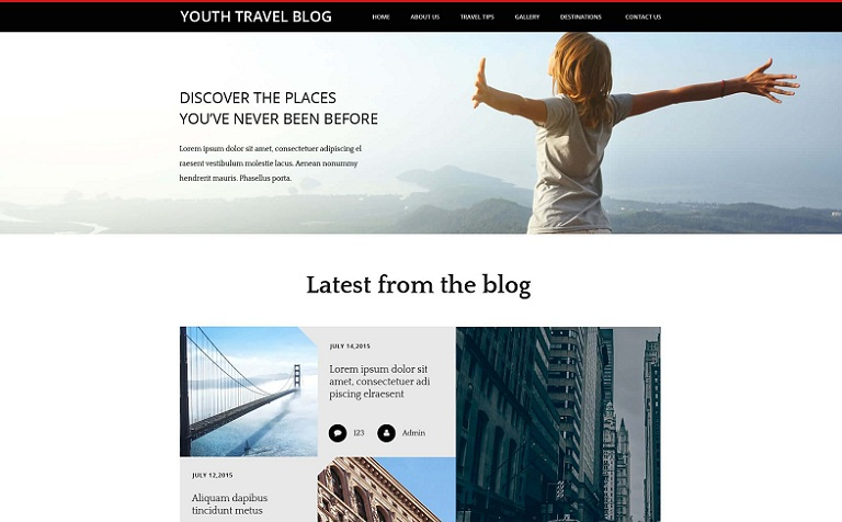 Youth Travel Blog