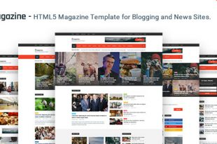 Magazine HTML Website Templates