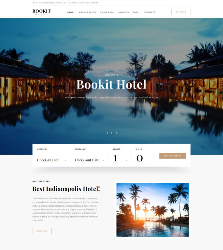 Bookit - Small Hotel