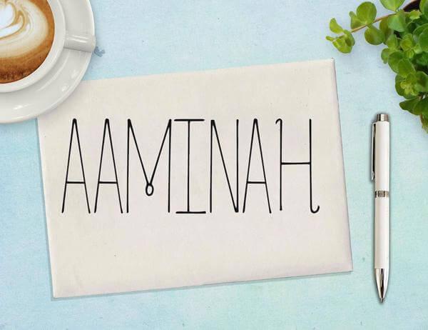 Aaminah