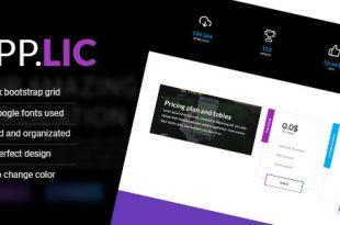 Technology PSD Website Templates