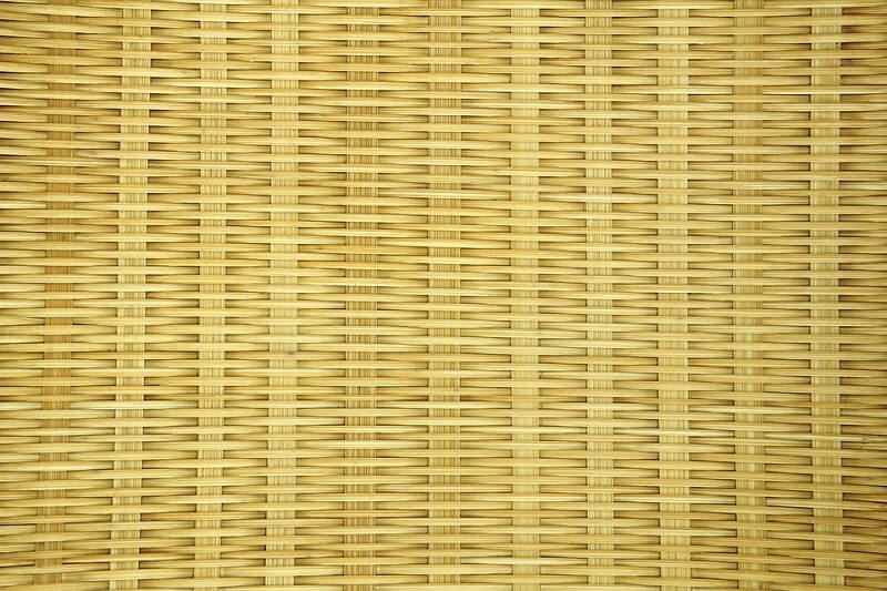 Bamboo craft basket pattern