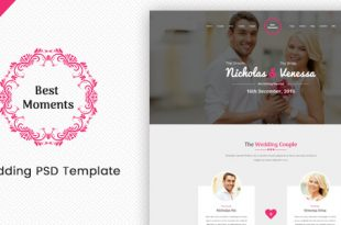 Wedding PSD Website Templates