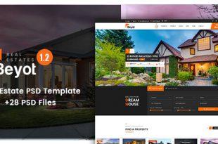 Real Estate PSD Website Templates